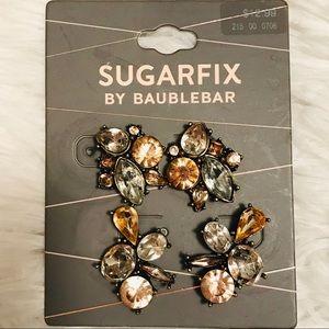 Sugarfix NWT Set of 2 Gem Earrings